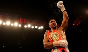 Anthony Joshua Knocks Out Dominic Breazeale In Seventh To Retain