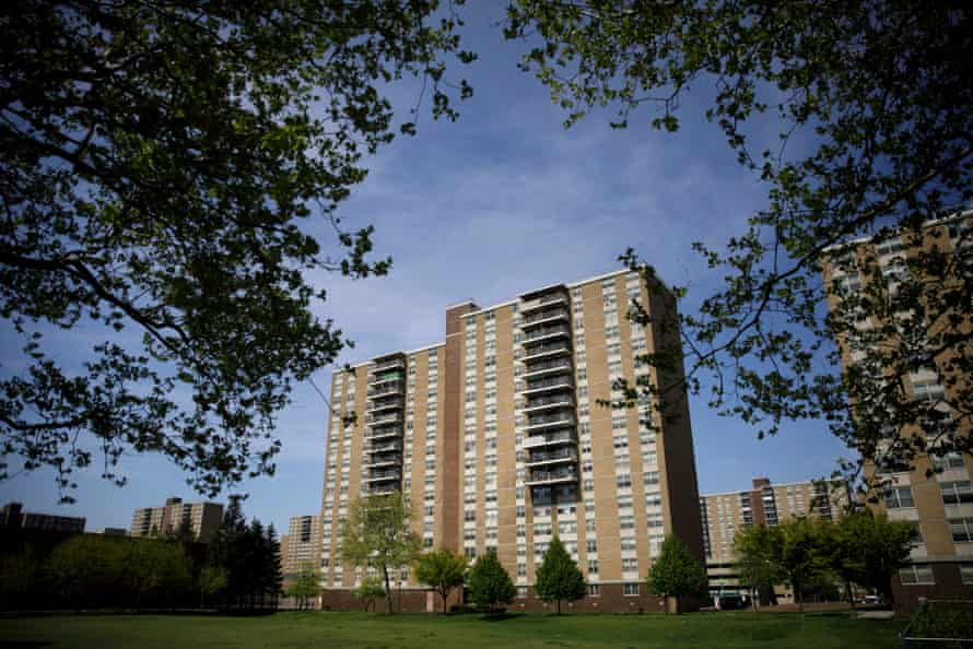 Starrett City, also known as Spring Creek Towers, stands in the East New York neighborhood of Brooklyn, New York City, on the low-lying shores of the East River.