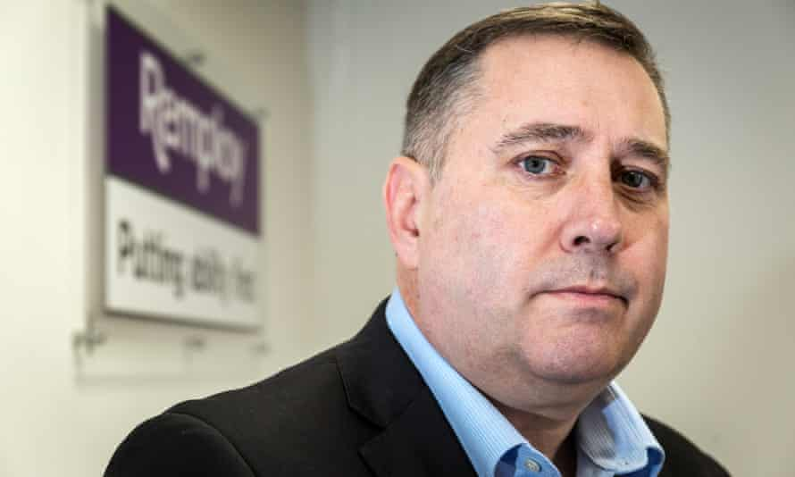Gareth Parry, chief executive of Remploy disability employment agency