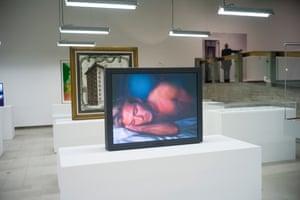 Taylor-Johnson's video portrait of David Beckham.