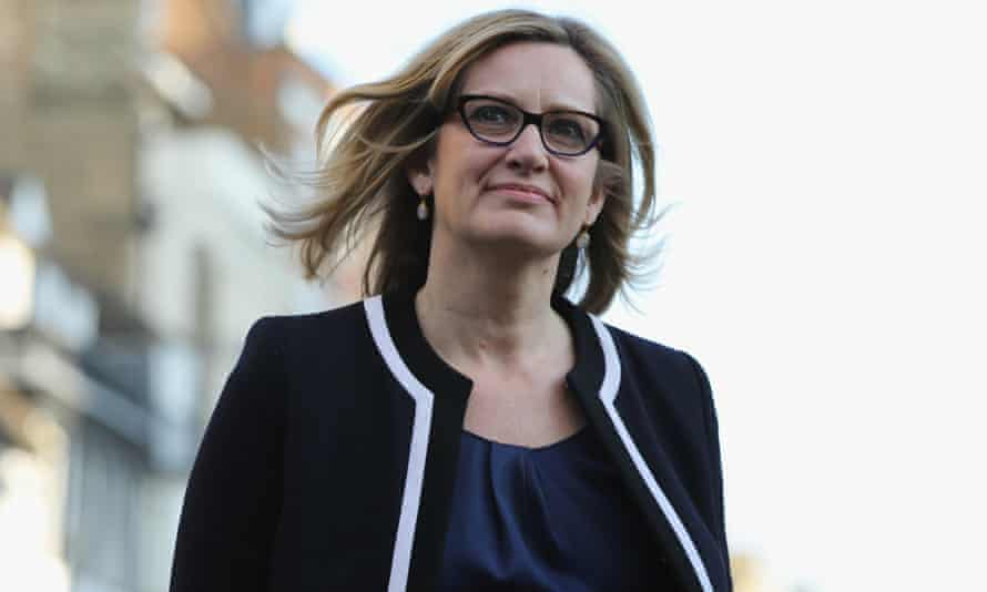 Home secretary Amber Rudd.