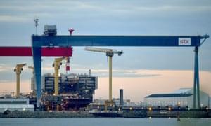 The STX France shipyard at St-Nazaire.