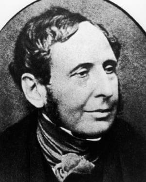 Naval officer Robert FitzRoy.
