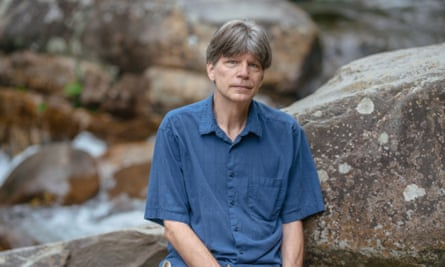 Richard Powers in Great Smokeys National Park in Tennessee.