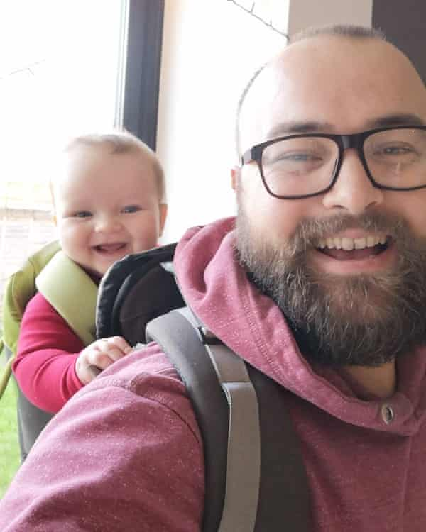 Ben Beazley with his son, Barnaby.