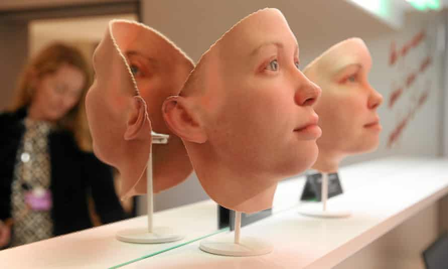 3D model Chelsea Manning's face Heather Dewey-Hagborg.