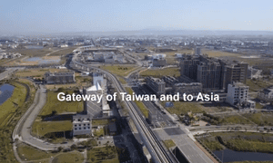The Aerotropolis project is planned around the renovation of Taiwan's main airport, Taoyuan International.
