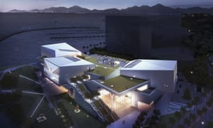 Design Society, Shēnzhèn, China, artist's rendering of the new art centre.