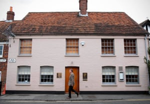'Oh, the cuttlefish cannelloni. Oh, the crab biscuit': the Fat Duck in Bray.