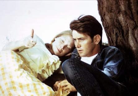 Martin Sheen with Sissy Spacek in Badlands