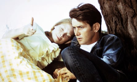 Sissy Spacek and Martin Sheen in Badlands.