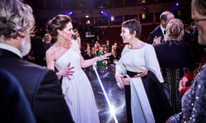 The Duchess of Cambridge and Olivia Colman