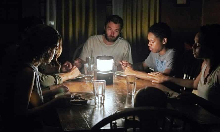 Joel Edgerton (centre) as Paul in It Comes At Night.