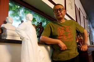 Fan Jianchuan, the founder of Jianchuan Museum