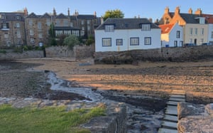 Sea change: the coastal town of Anstruther, in the East Neuk of Fife, from where the Isle of May ferry departs.