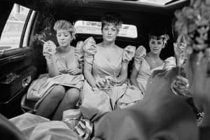 Bridesmaids Smoking, Brooklyn, 1989