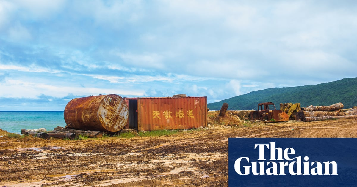 'They failed us': how mining and logging devastated a Pacific island in a decade