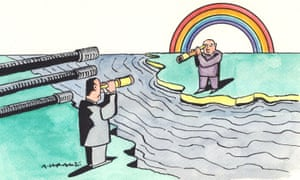 Illustration by Andrzej Krauze for Owen Jones