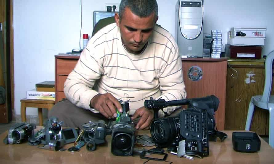 Five Broken Cameras.
