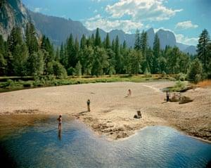Merced River, Yosemite National Park, California, 13 August 1979, by Stephen Shore.