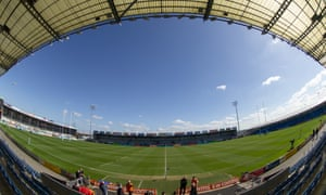 Sandy Park, home of Exeter Chiefs, for whom increased turnover of more than £3m saw the club realise a profit of £533k for the year until June 2018.