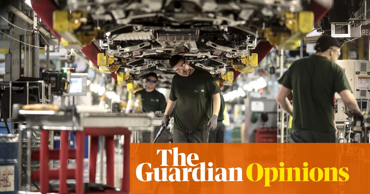 Jaguar Land Rover is right on Brexit  But cars can't save Birmingham