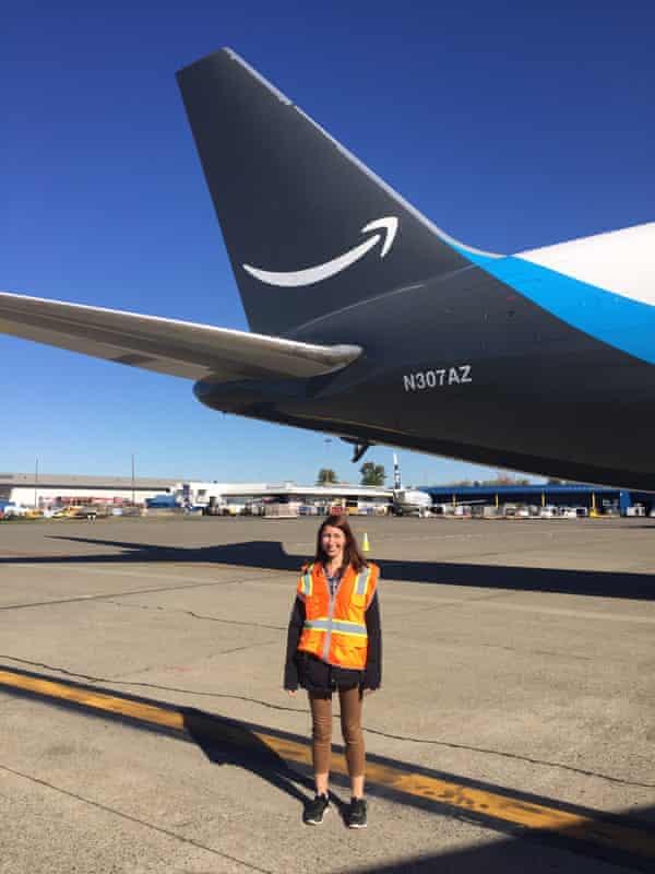 Amazon worker Rebecca Sheppard.