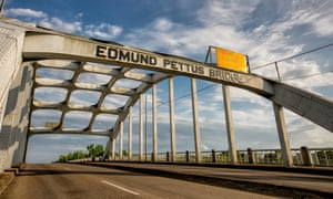 Edmund Pettus Bridge in Selma, Alabama.