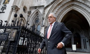 Vijay Mallya leaves the Royal Courts of Justice in February