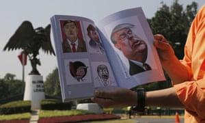 Donald Trump cartoons in Mexico