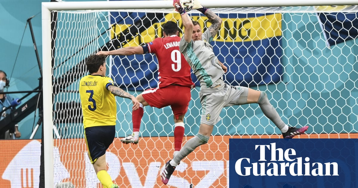 Robin Olsen: from Roma reject to a giant for Sweden at Euros