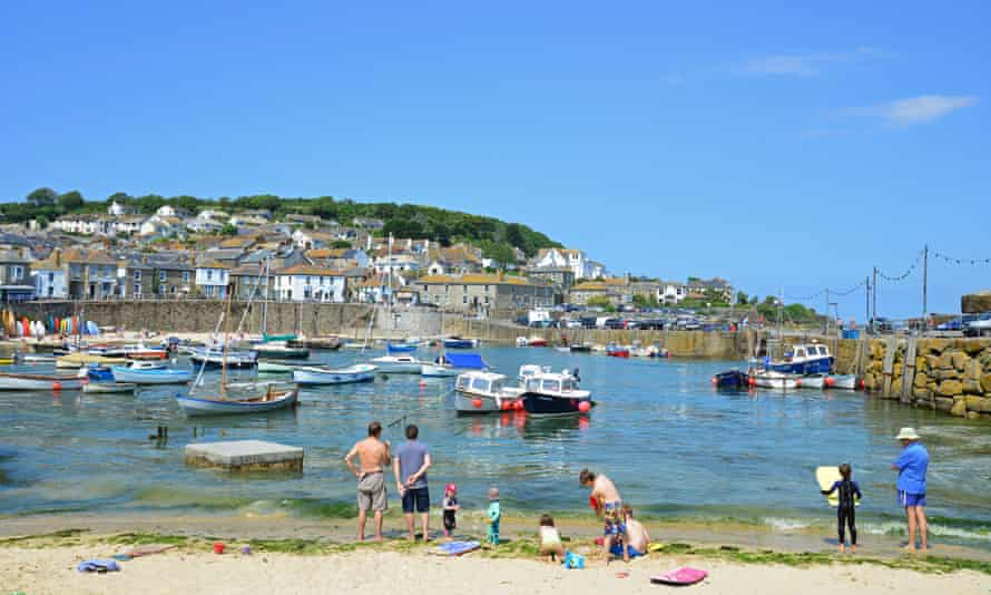 Mousehole in Cornwall,