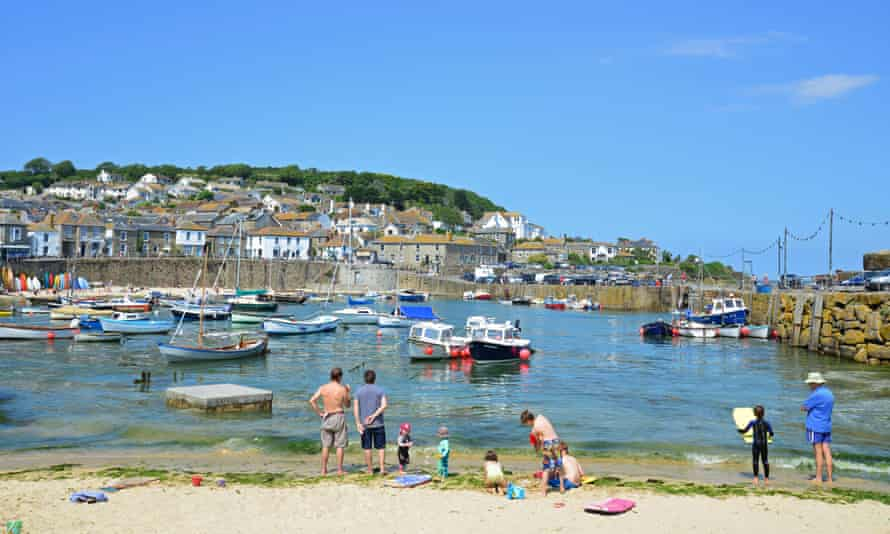 The harbour at Mousehole, which has seen a large number of second homers.