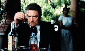 Albert Finney as Geoffrey Firmin in the 1984 film of Under the Volcano.