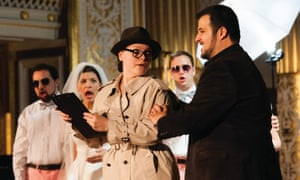 The profounds truths are worth the unlikely story … Così fan tutte in the RLPO's 2014 staging.