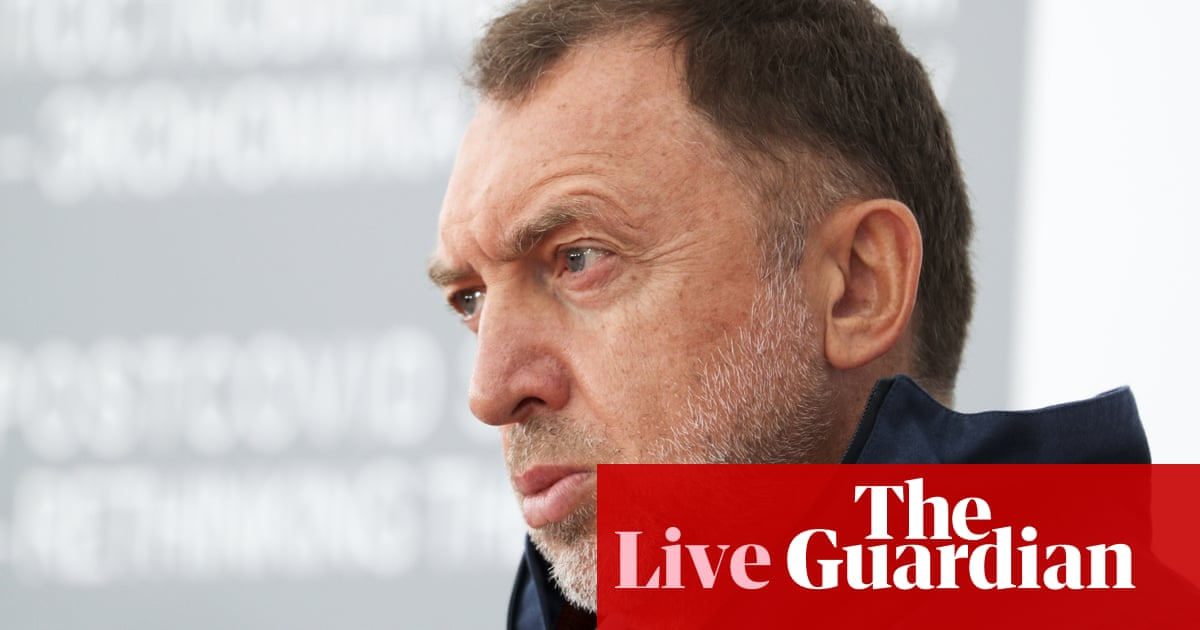 FBI reportedly conducting 'activity' at home of sanctioned Russian oligarch – live
