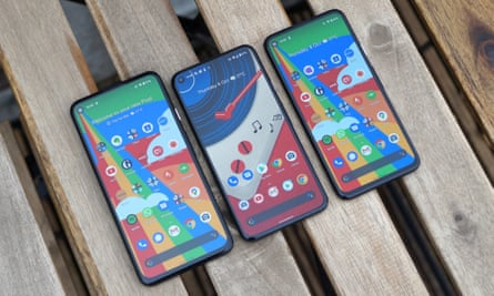 Three phones