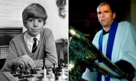 'People tell me I'm portrayed as triumphing over the odds – but that's not how I see it' … Hughes at 14 and 49.
