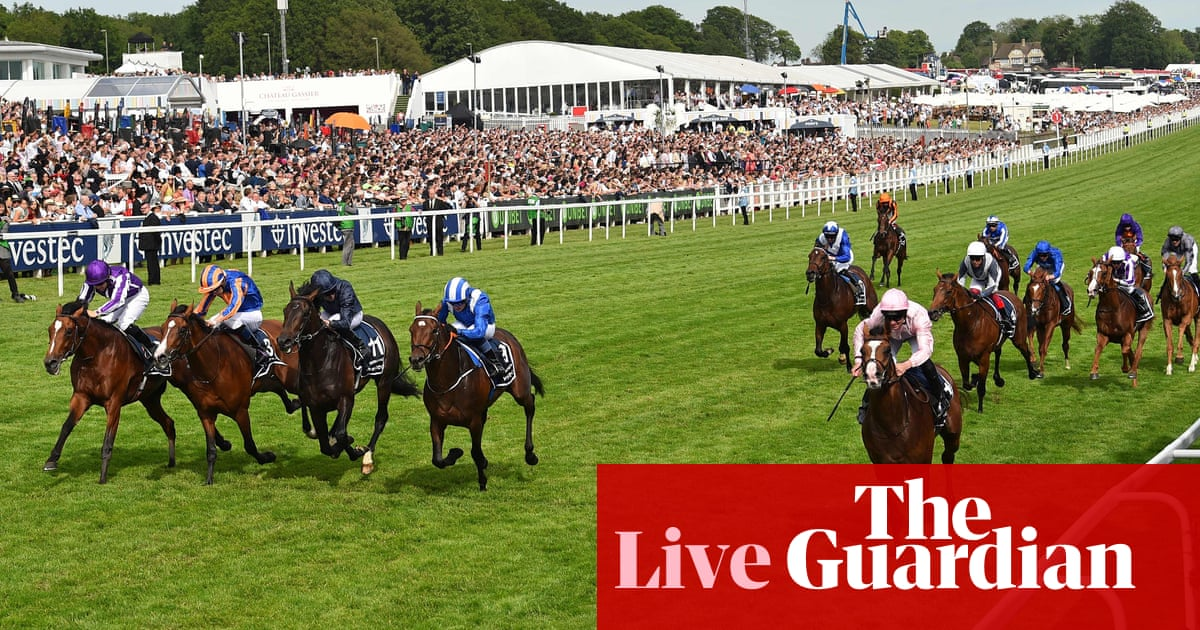Anthony Van Dyck wins the 2019 Derby – as it happened