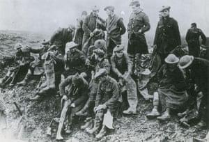 Gordon Highlanders during the first world war, 1916