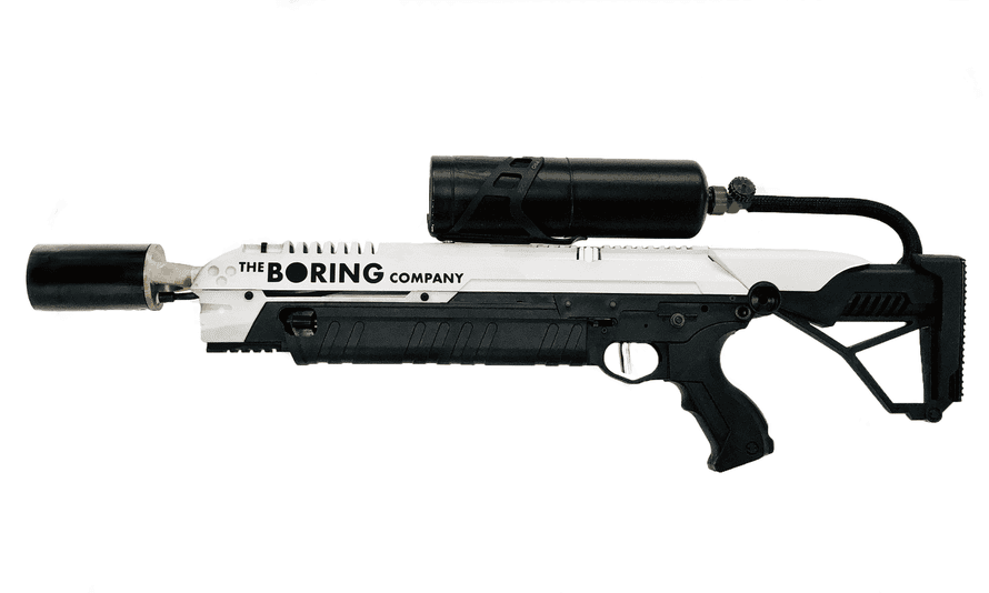 The Boring Company Flamethrower.