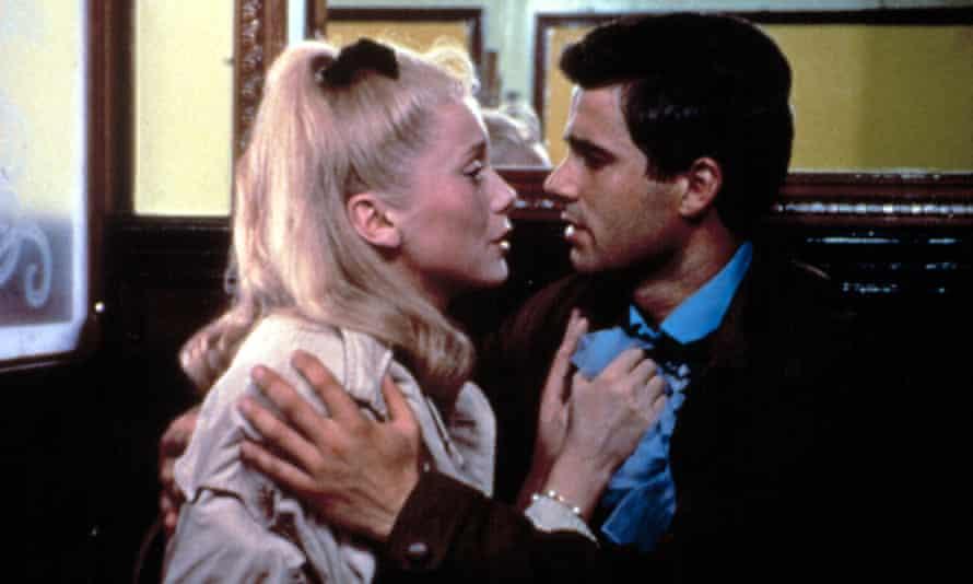 Poignant romance … Catherine Deneuve and Nino Castelnuovo.