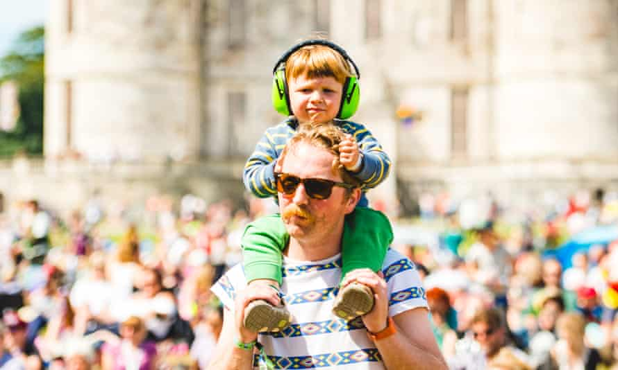Get with the family beat … at Camp Bestival