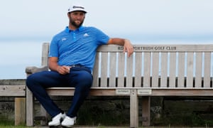 Jon Rahm: 'Ever since I first played in Portstewart, the Irish crowd has treated me very, very specially'.