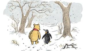 Illustration by Mark Burgess. Courtesy of Mark Burgess/Trustees of the Pooh Properties/Egmont Publishing