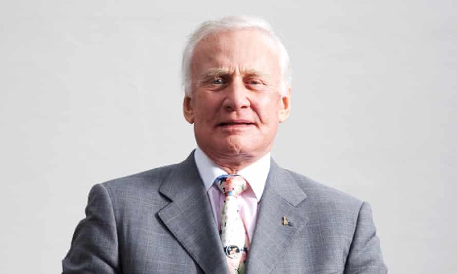 Buzz Aldrin in London.