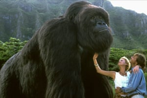 With Charlize Theron. Mighty Joe Young - 1998