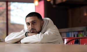 Actor Adam Deacon photographed in the Park Theatre, London