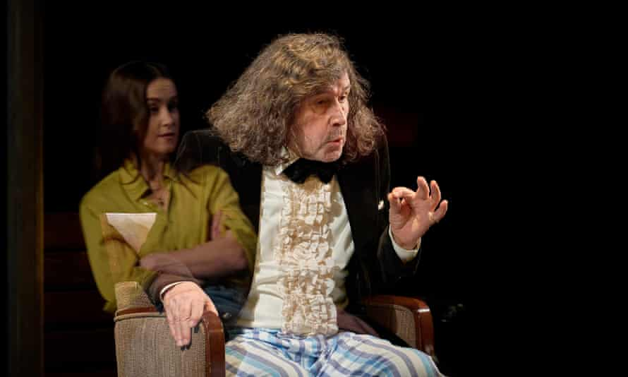 Depths of feeling … Judith Roddy and Stephen Rea in The Visiting Hour.