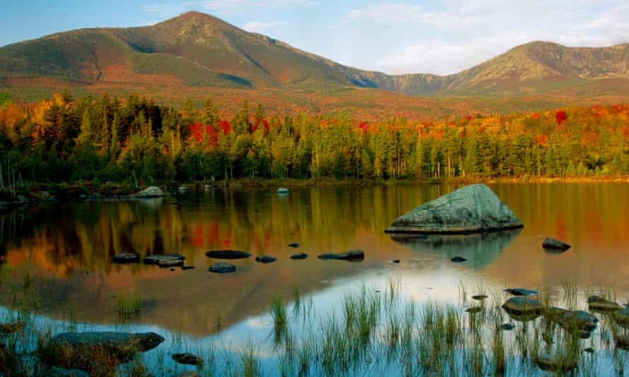 Mount Katahdin in Maine.